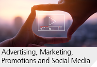 Advertising, marketing and promotions